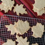 Maple Nutmeg Butter Cookies