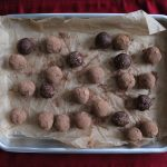 Chocolate Gingerbread Date Balls