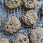 Salted Tahini Chocolate Chip Lactation Cookies