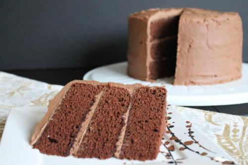 Devil's Food Cake (Gluten-Free)