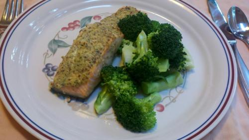 Herb Mustard Salmon