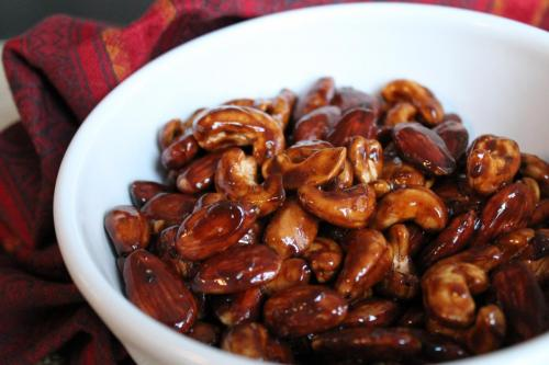 Completely Addictive Spice-Candied Nuts