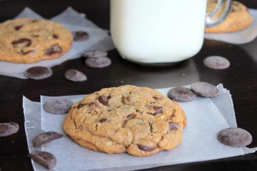 Whole Grain Chocolate Chunk Cookies