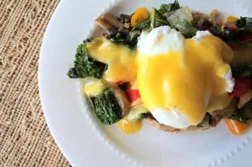 Vegetable Benedict with No-Fuss Hollandaise