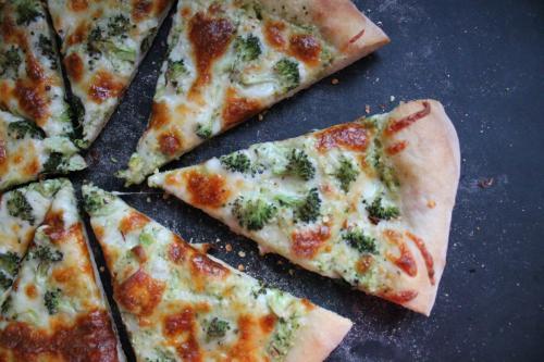 Double Broccoli Pizza