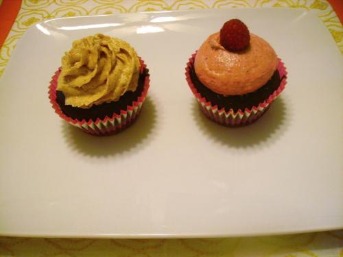 Chocolate Almond Cupcakes (GF, DF)