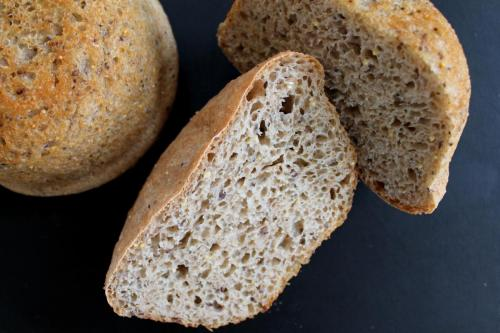 Seeded Peasant Bread