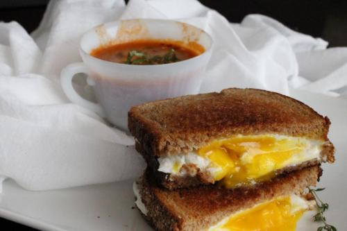 Tomato Soup (and Grown-Up Grilled Cheese)