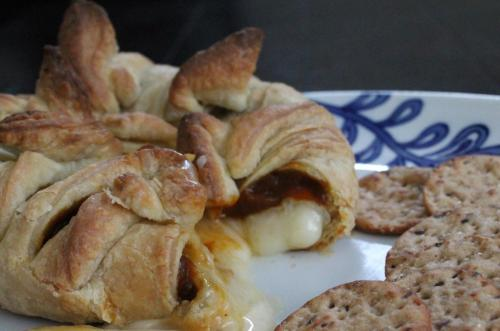 Baked Brie with Pumpkin Butter