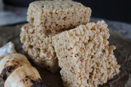 Toasted Marshmallow Rice Krispie Treats