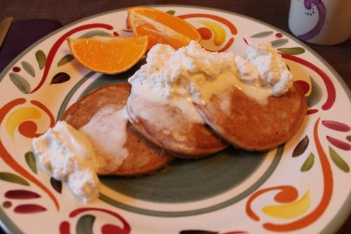 Chai Spiced Pancakes
