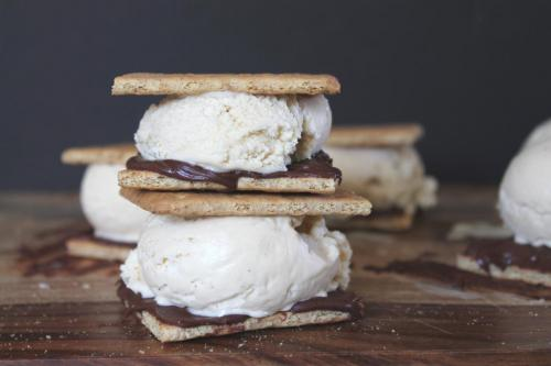 Toasted Marshmallow Ice Cream