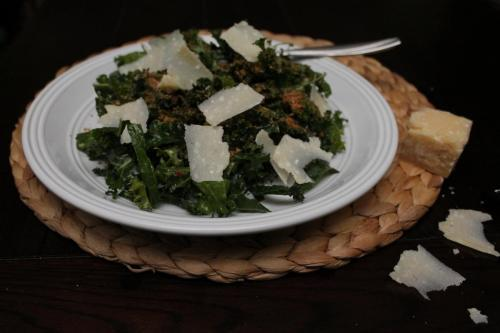 Curly Kale Salad