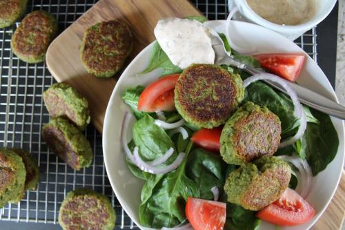 Green Herb Falafel