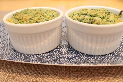 Mini Kale Souffles
