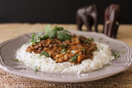 Dal Makhani (Lentils with Tomatoes and Cream)