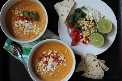 Mexican Sweet Corn Soup