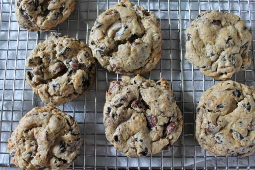 Malted Milk Chocolate Chip and Oreo Cookies