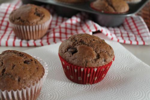 Double Chocolate Spice Muffins