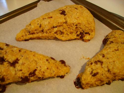 Zesty Whole Wheat Scones