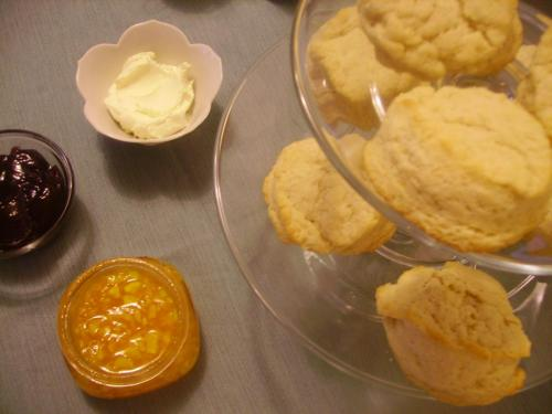 Scones, Clotted Cream, and Jams