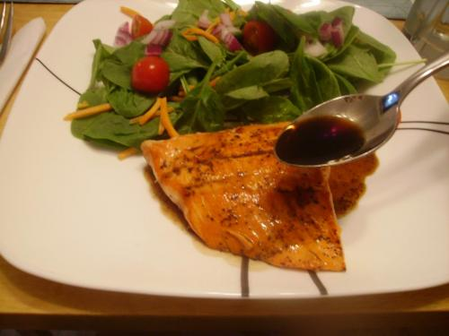 Pan Seared Salmon with Citrus Vinegar