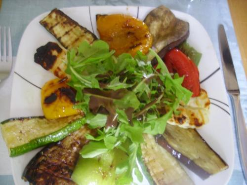 Caprice Grilled Veggies and Halloumi