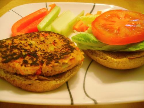Spicy Tuna Burgers