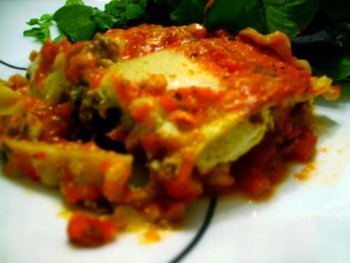 Roasted Veggie Lasagna