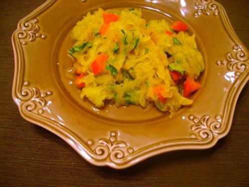 Moroccan-Spiced Spaghetti Squash