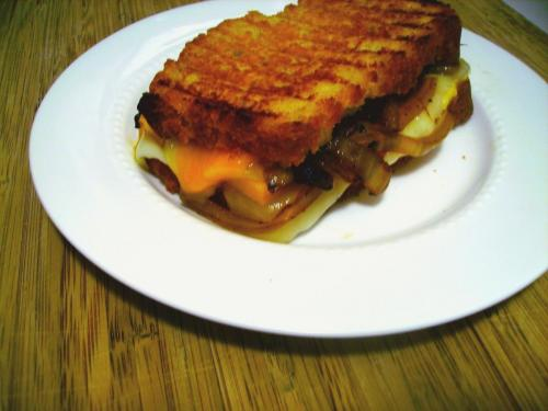 Grilled Beer and Cheese