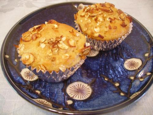 Honey Nut Granola Muffins