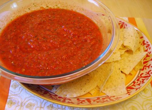 Rothman's Fire-Breathing Salsa