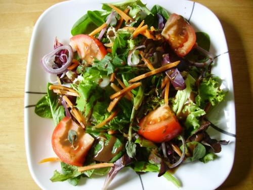 Simple Spring Mix Salad